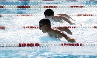 Oadby swimming pool leicester childrens leisure for Outdoor swimming pool leicester