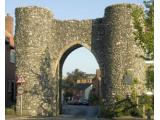 Castle Acre Castle and Bailey Gate